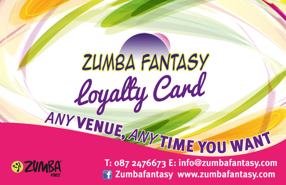 Fantasy Loyalty card bk